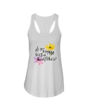 DO YOU SHE'S A WILDFLOWER Ladies Flowy Tank thumbnail