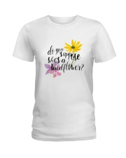 DO YOU SHE'S A WILDFLOWER Ladies T-Shirt thumbnail