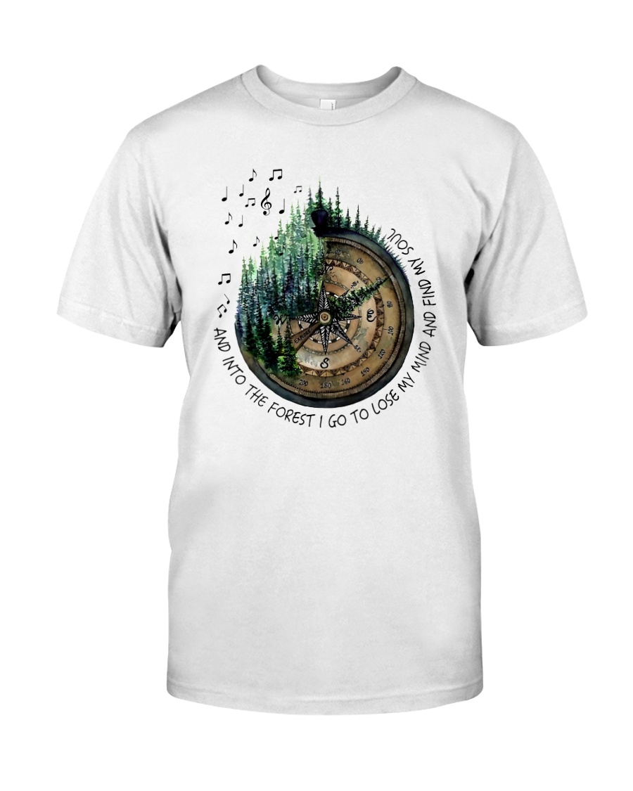 I Go To Lose My Mind And Find My Soul  Classic T-Shirt