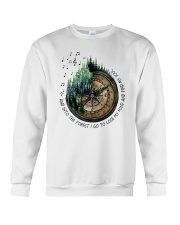 I Go To Lose My Mind And Find My Soul  Crewneck Sweatshirt thumbnail