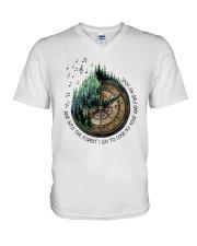 I Go To Lose My Mind And Find My Soul  V-Neck T-Shirt thumbnail