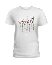 PEACE LOVE Ladies T-Shirt thumbnail