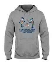 Someone Burns Their Wiener Hooded Sweatshirt thumbnail