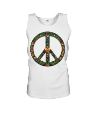 PEACE LOVE Unisex Tank thumbnail