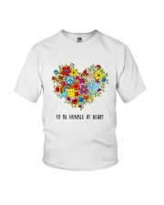 To be humble at heart Youth T-Shirt thumbnail