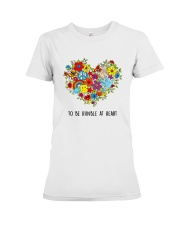 To be humble at heart Premium Fit Ladies Tee tile
