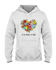 To be humble at heart Hooded Sweatshirt tile
