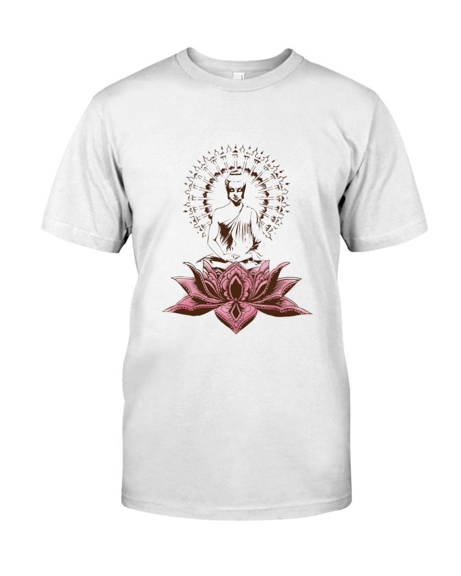 Yoga Mandala Style Premium Fit Mens Tee