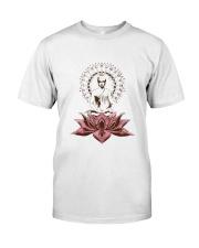 Yoga Mandala Style Premium Fit Mens Tee front