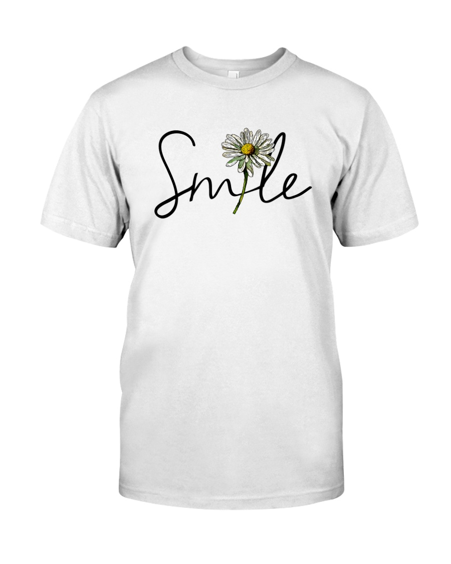 SMILE FLOWER Classic T-Shirt