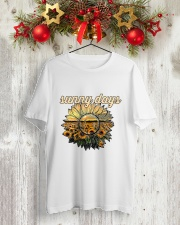 SUNFLOWER Classic T-Shirt lifestyle-holiday-crewneck-front-2