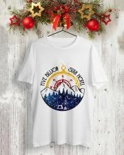 Five Billion Star Hotel Classic T-Shirt lifestyle-holiday-crewneck-front-2