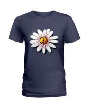 FLOWER PEACE Ladies T-Shirt thumbnail