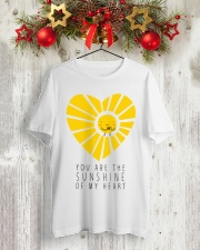 YOU ARE THE SUNSHINE Classic T-Shirt lifestyle-holiday-crewneck-front-2
