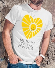 YOU ARE THE SUNSHINE Classic T-Shirt lifestyle-mens-crewneck-front-4