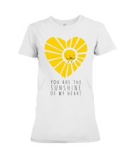 YOU ARE THE SUNSHINE Premium Fit Ladies Tee thumbnail