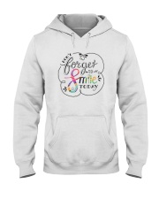 DON'T FORGET TO SMILE Hooded Sweatshirt thumbnail