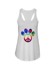PEACE Ladies Flowy Tank thumbnail