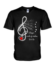 LET IT BE V-Neck T-Shirt tile
