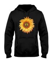 FLOWER PEACE Hooded Sweatshirt thumbnail