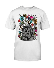 START EACH DAY WITH A GRATEFUL HEART Classic T-Shirt front