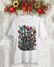 START EACH DAY WITH A GRATEFUL HEART Classic T-Shirt lifestyle-holiday-crewneck-front-2