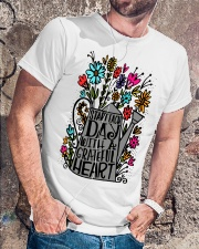 START EACH DAY WITH A GRATEFUL HEART Classic T-Shirt lifestyle-mens-crewneck-front-4