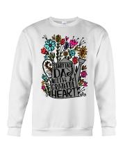 START EACH DAY WITH A GRATEFUL HEART Crewneck Sweatshirt thumbnail