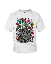 START EACH DAY WITH A GRATEFUL HEART Youth T-Shirt thumbnail