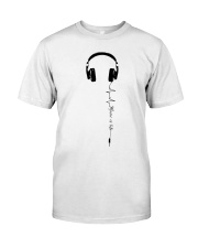 MUSIC IS LIFE Classic T-Shirt front