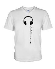 MUSIC IS LIFE V-Neck T-Shirt thumbnail