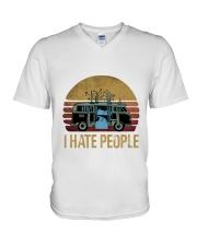 HP-D-2602193-I Hate People V-Neck T-Shirt thumbnail