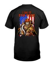 PROUD FIREFIGHTER Classic T-Shirt back