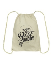 WORLD BEST DADDY  Drawstring Bag thumbnail
