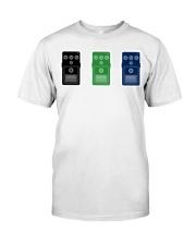 Guitar Pedals Classic T-Shirt front