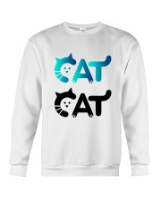 cat cat Crewneck Sweatshirt thumbnail