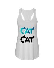 cat cat Ladies Flowy Tank thumbnail