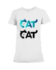 cat cat Premium Fit Ladies Tee thumbnail