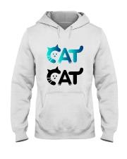 cat cat Hooded Sweatshirt thumbnail