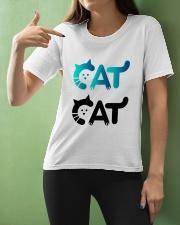 cat cat Ladies T-Shirt apparel-ladies-t-shirt-lifestyle-front-10