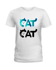 cat cat Ladies T-Shirt front