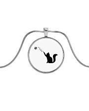Accessories Metallic Circle Necklace thumbnail