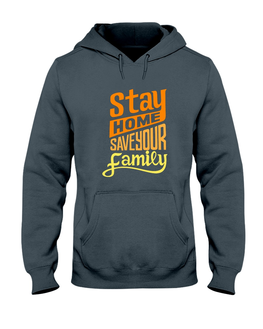 stay home Hooded Sweatshirt