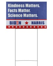 Kindness matters 18x12 Yard Sign front