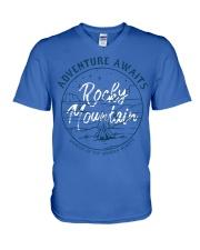 Desert Night Adventure Awaits V-Neck T-Shirt front