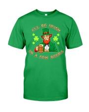 St Patricks Day I'll be Irish Classic T-Shirt tile
