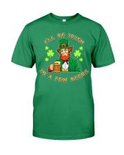 St Patricks Day I'll be Irish Premium Fit Mens Tee tile