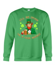 St Patricks Day I'll be Irish Crewneck Sweatshirt tile