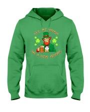 St Patricks Day I'll be Irish Hooded Sweatshirt tile