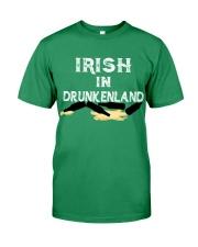 Irish In Drunken Land Premium Fit Mens Tee tile